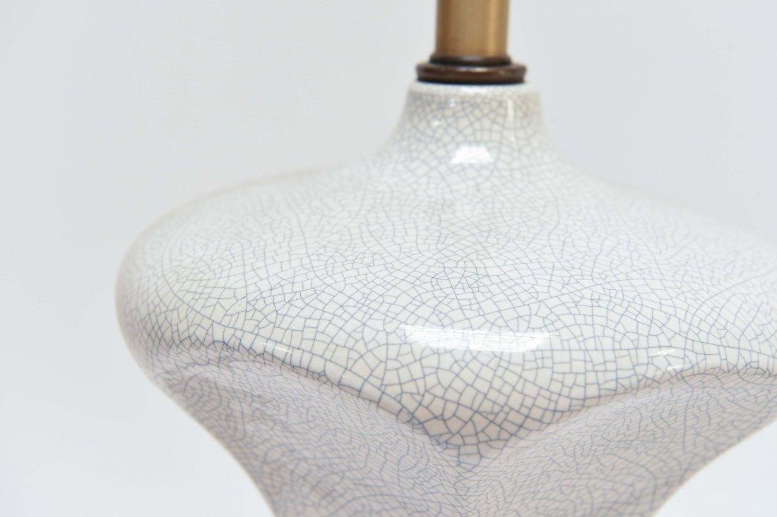 PAIR OF MID-CENTURY CERAMIC LAMPS - 2