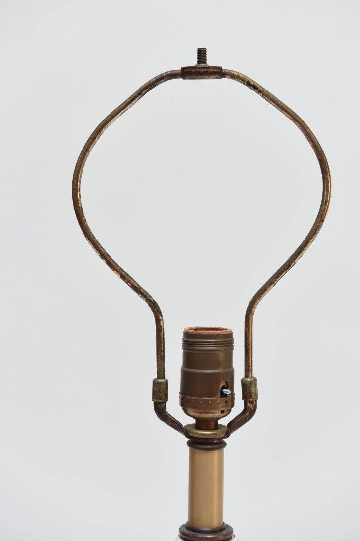 PAIR OF MID-CENTURY CERAMIC LAMPS - 5