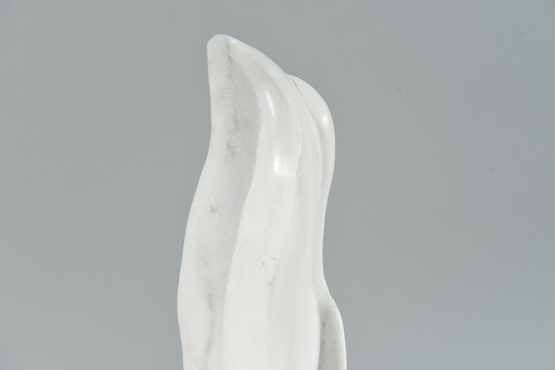 CARVED MARBLE SCULPTURE - 2