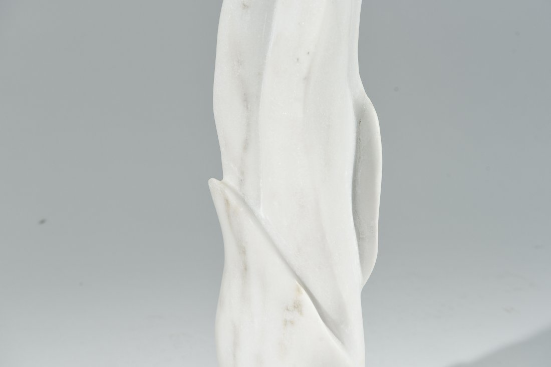 CARVED MARBLE SCULPTURE - 3