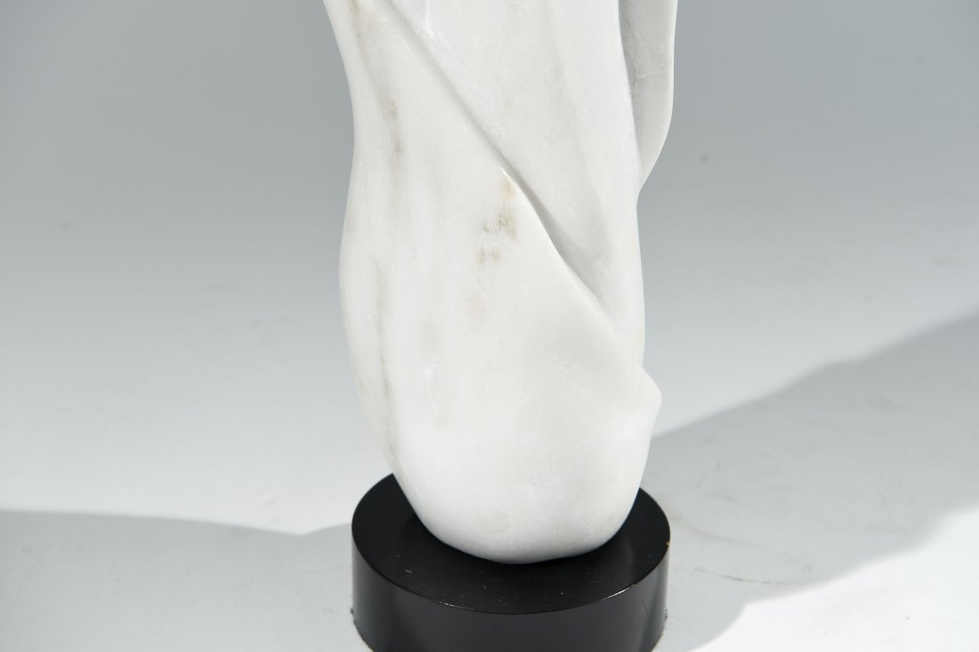 CARVED MARBLE SCULPTURE - 4