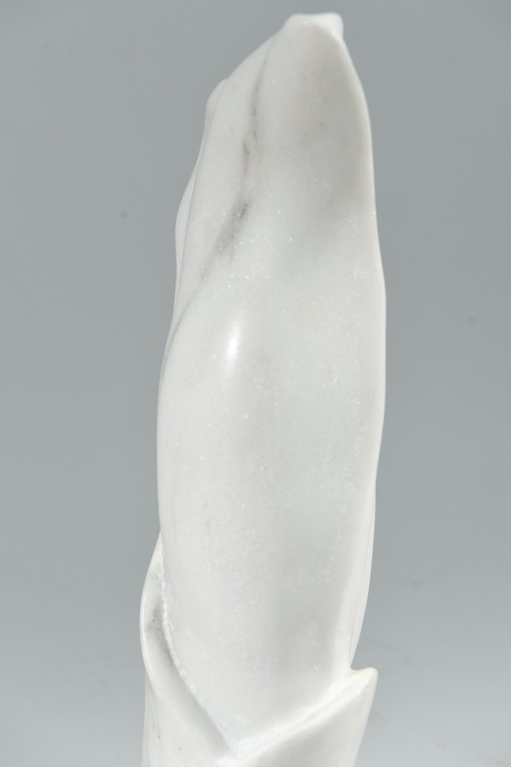 CARVED MARBLE SCULPTURE - 6