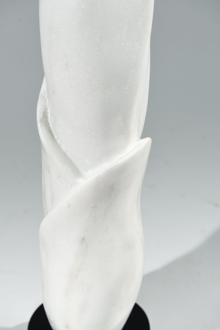 CARVED MARBLE SCULPTURE - 7