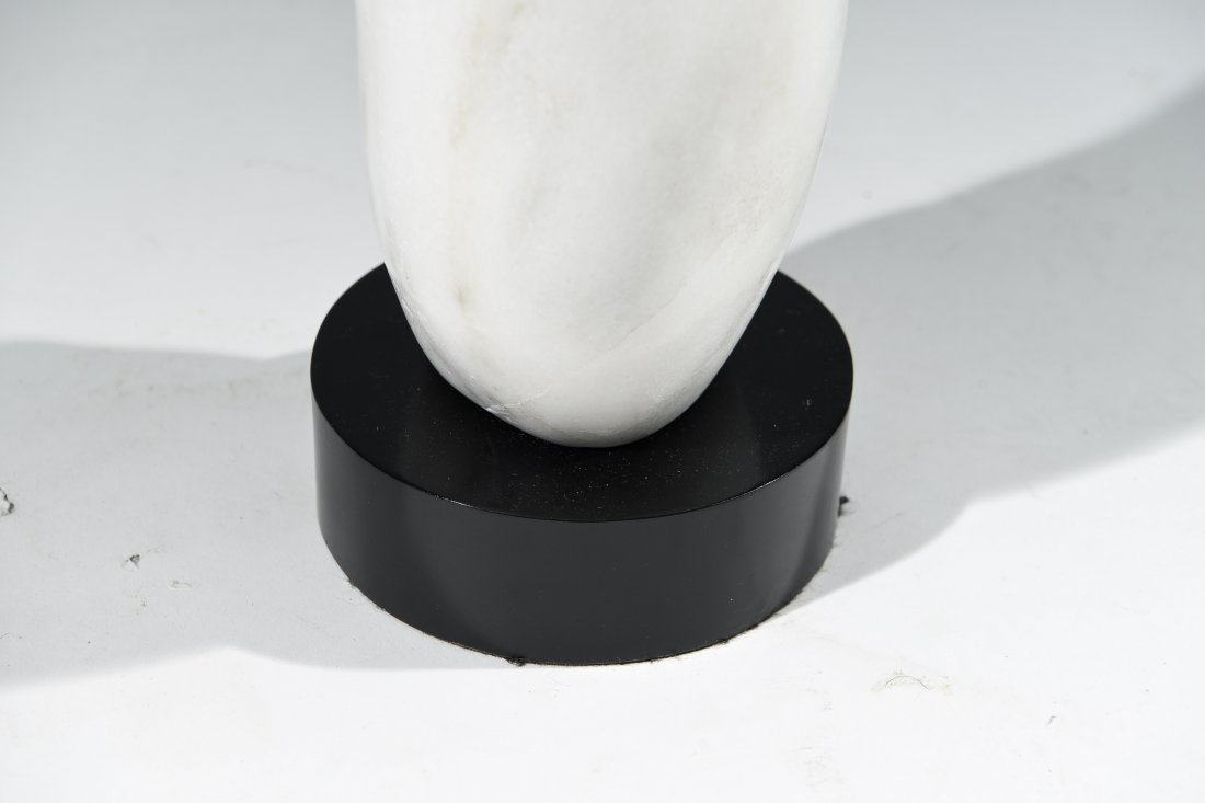 CARVED MARBLE SCULPTURE - 8