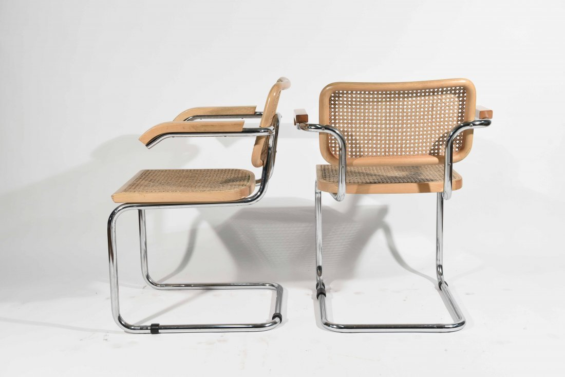 PAIR OF BRUER CESCA STYLE CHAIRS - 6