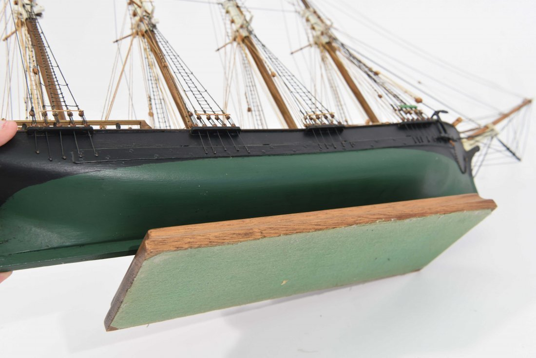 JOHN WALLACE MODEL SHIP - 10