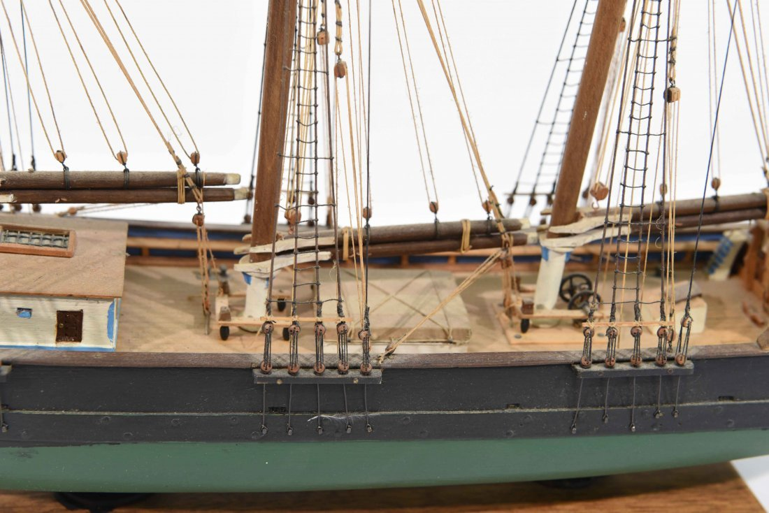 JOHN WALLACE MODEL SHIP - 3