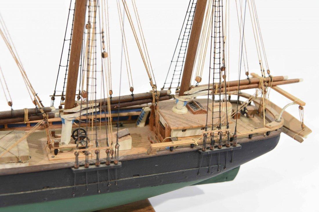 JOHN WALLACE MODEL SHIP - 4