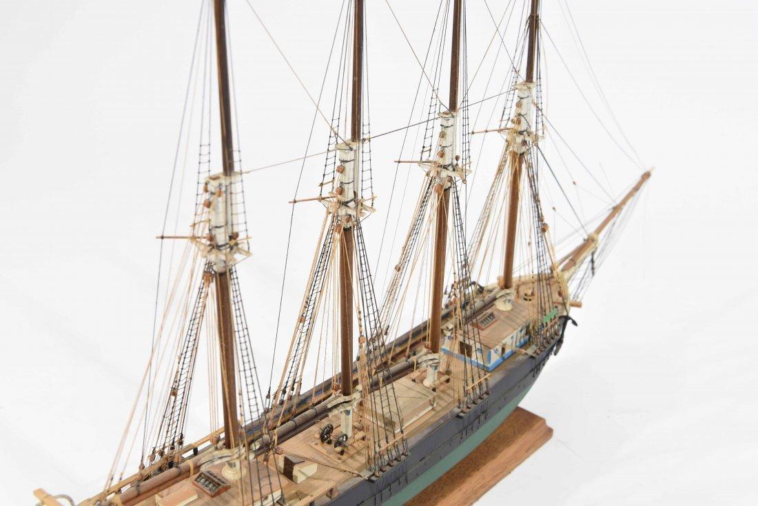 JOHN WALLACE MODEL SHIP - 9