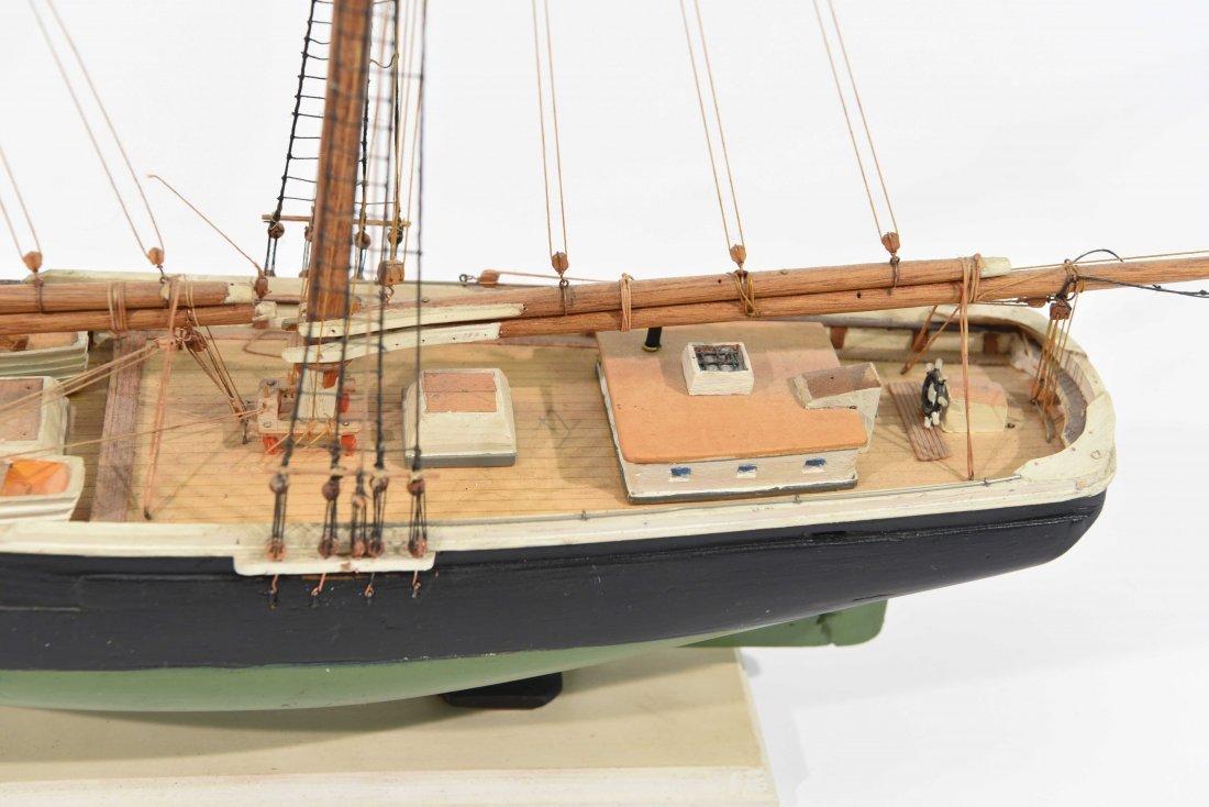 JOHN WALLACE MODEL SHIP - 2