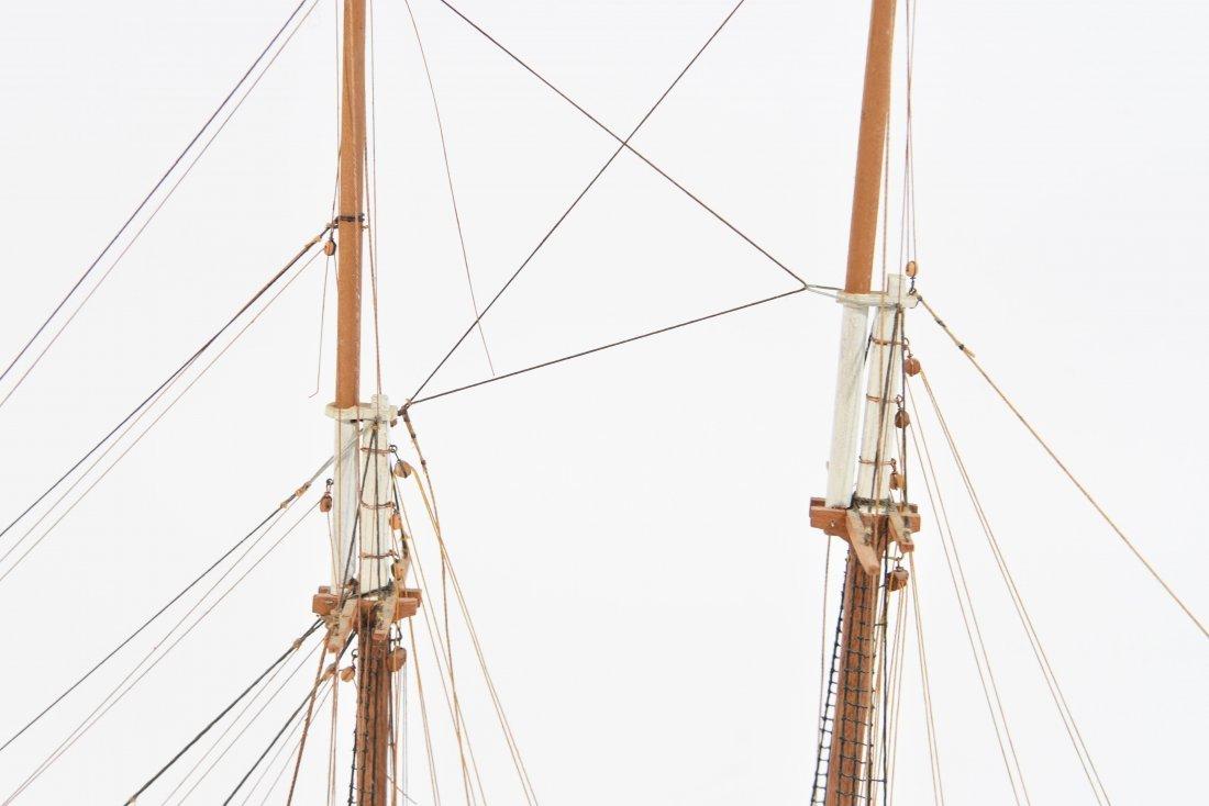 JOHN WALLACE MODEL SHIP - 5