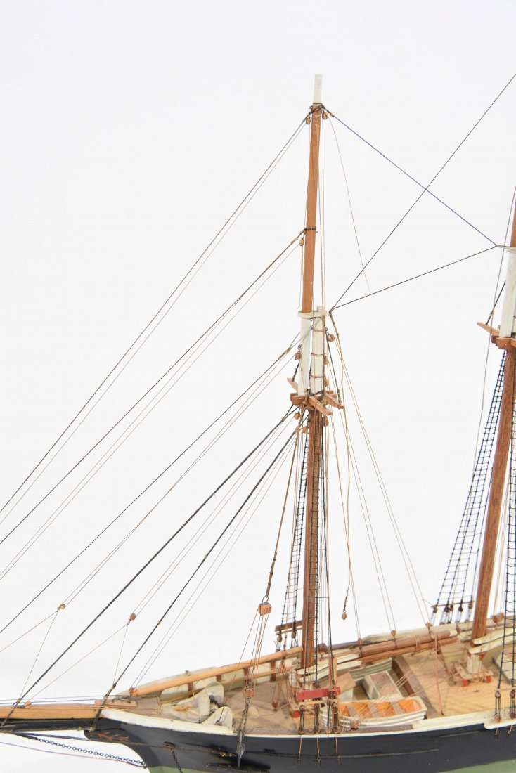 JOHN WALLACE MODEL SHIP - 6