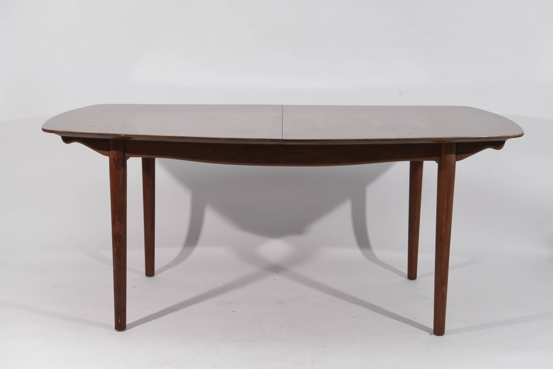 BAKER DINING TABLE W/ TWO LEAVES