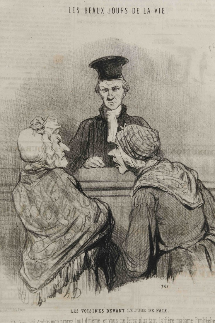 HONORE DAUMIER (FRANCH 1808 -1879) - 6