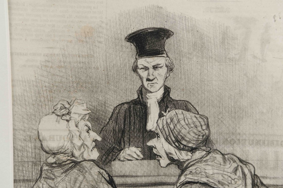 HONORE DAUMIER (FRANCH 1808 -1879) - 7