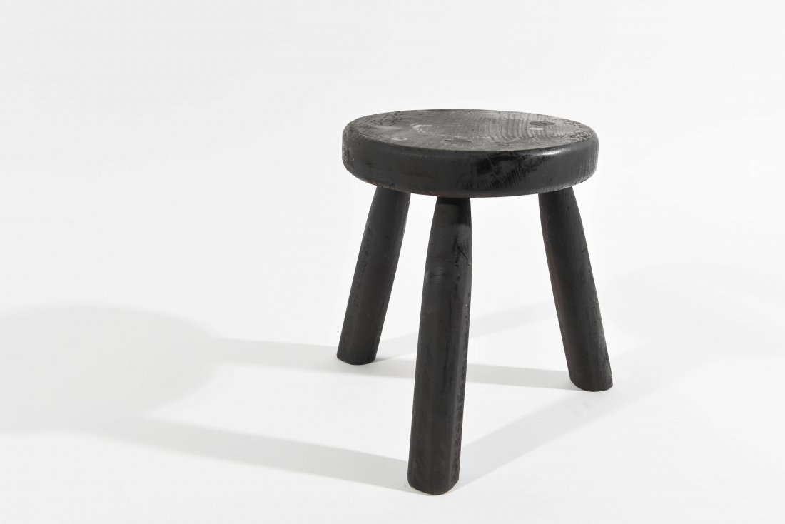 CHARLOTTE PERRIAND STYLE STOOL