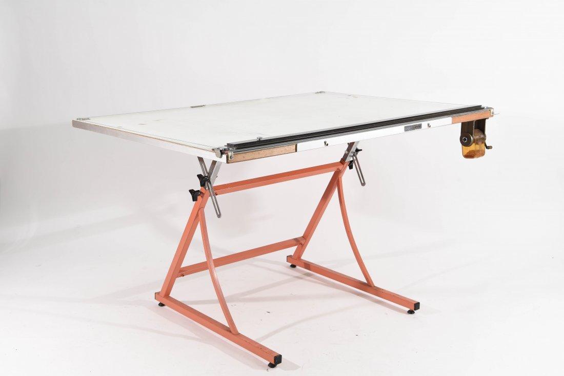 VINTAGE DRAFTING TABLE - 5