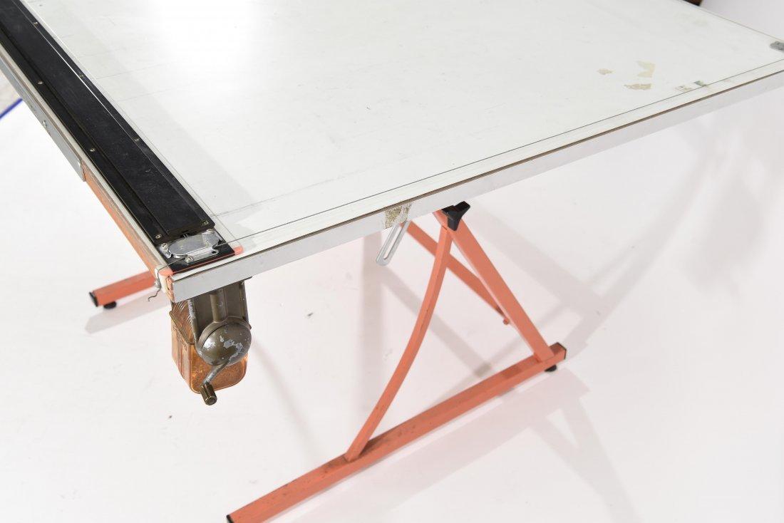 VINTAGE DRAFTING TABLE - 8