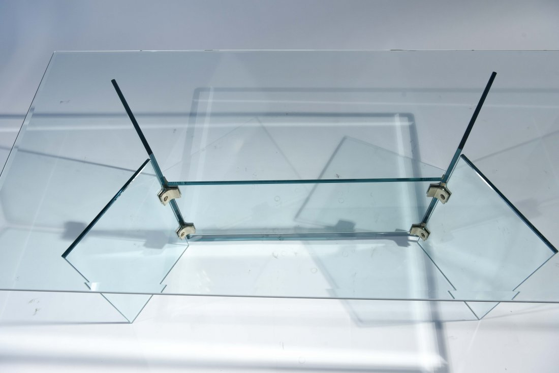PACE STYLE GLASS COFFEE TABLE - 5