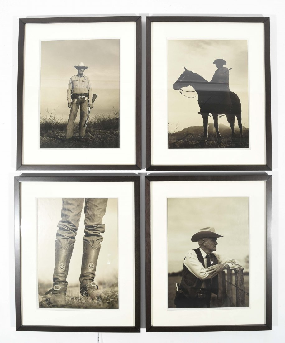 FOUR WESTERN IMAGES OF PHOTOS