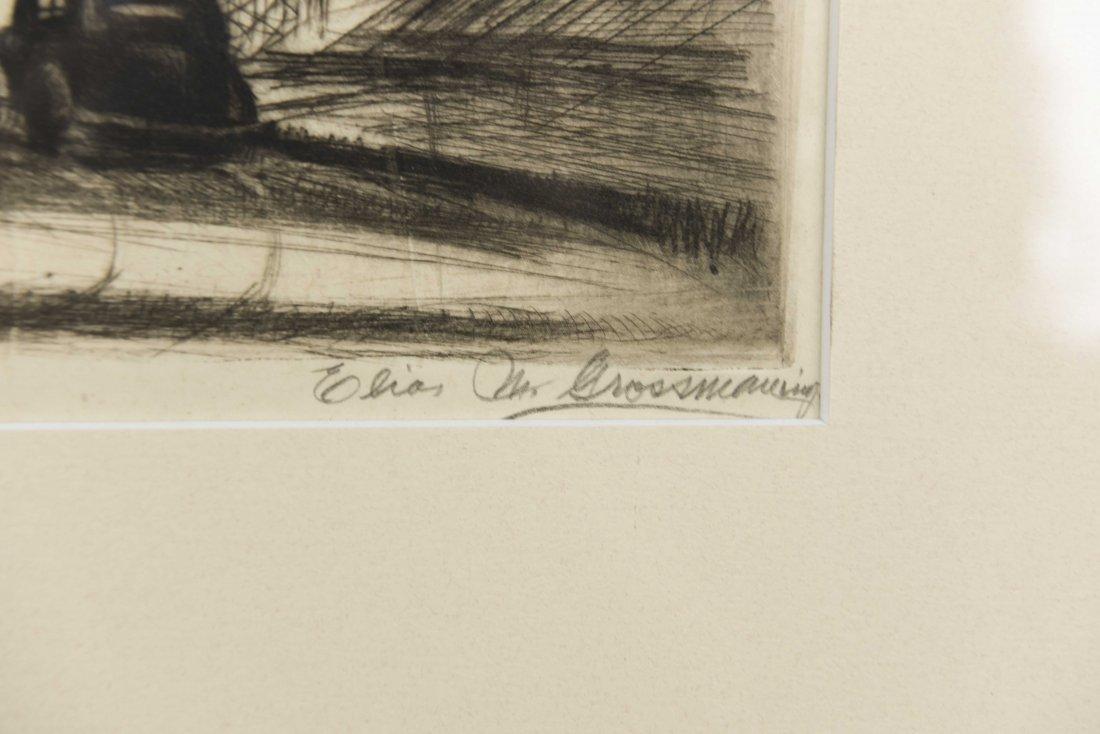 ELIAS GROSSMAN (RUSSIAN/ AMERICAN 1898-1947) PRINT - 4