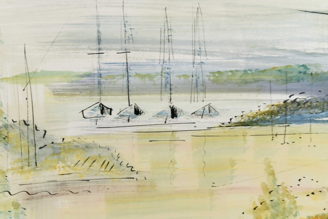 ALFRED BIRDSEY WATERCOLOR - 4