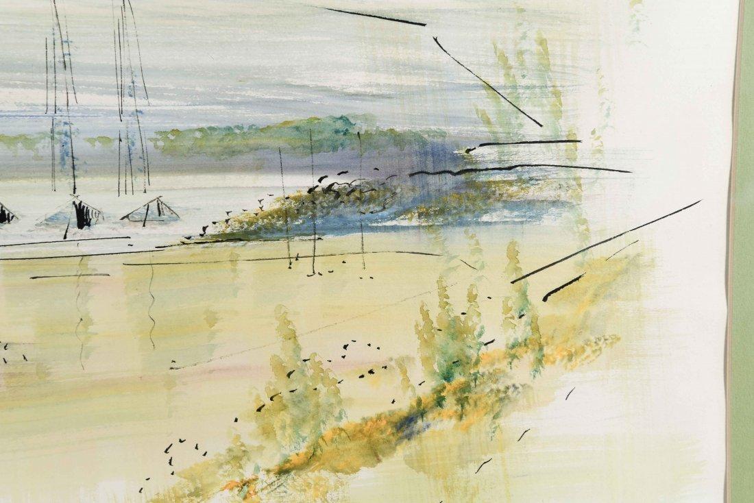 ALFRED BIRDSEY WATERCOLOR - 6