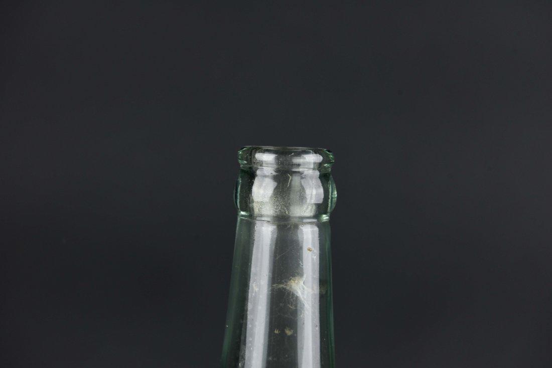 JEWISH GLASS BOTTLE - 3