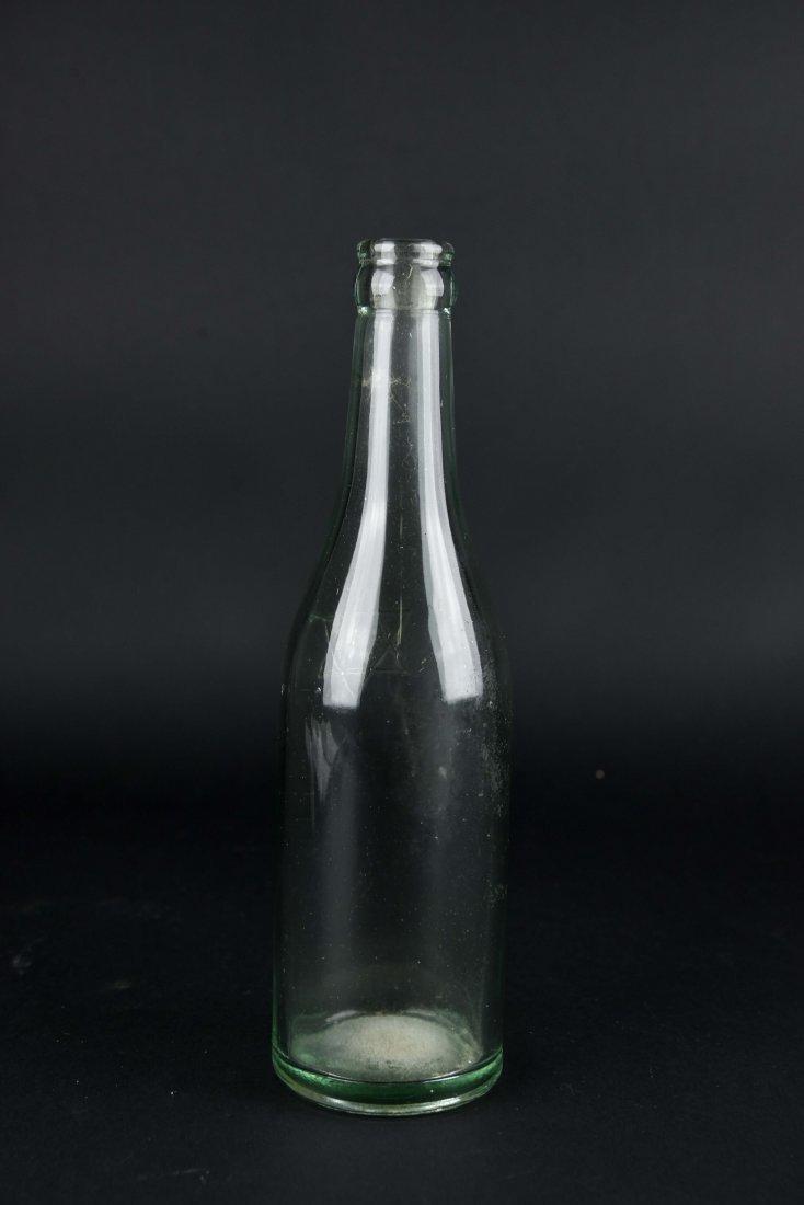 JEWISH GLASS BOTTLE - 5
