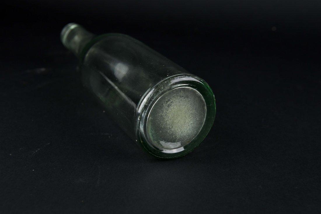 JEWISH GLASS BOTTLE - 6