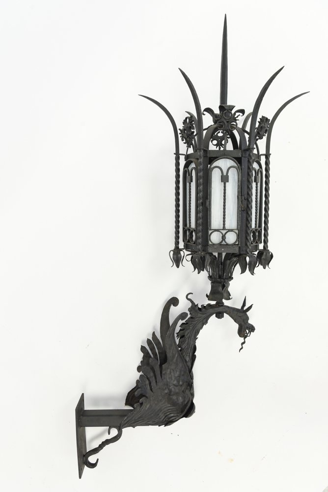 WROUGHT IRON SCONCE