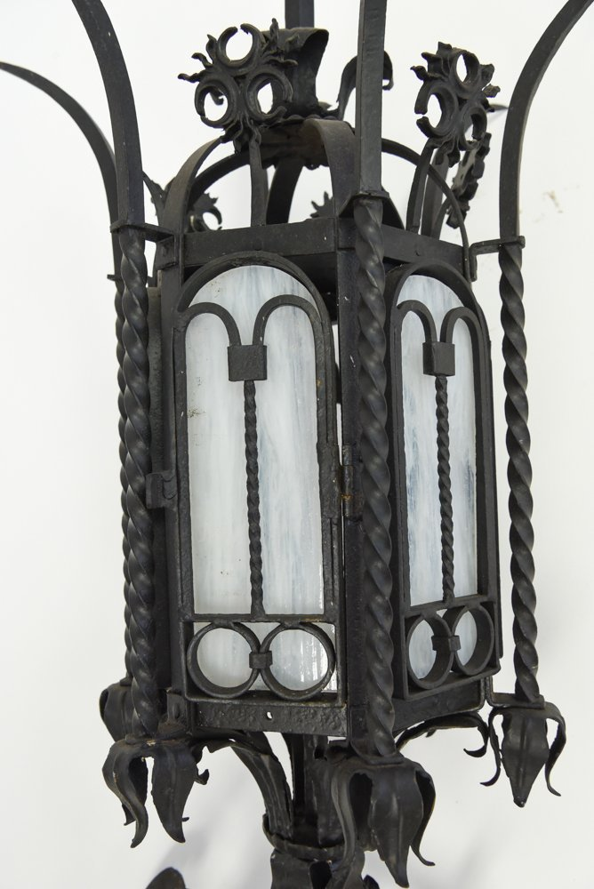 WROUGHT IRON SCONCE - 7
