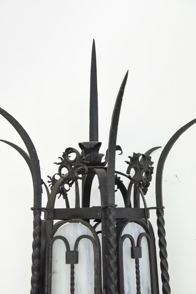 WROUGHT IRON SCONCE - 8