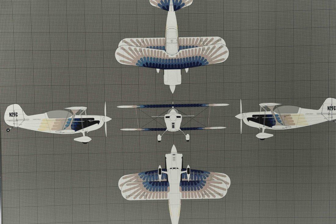 CHRISTEN EAGLE 2 AIRCRAFT DIAGRAM - 2