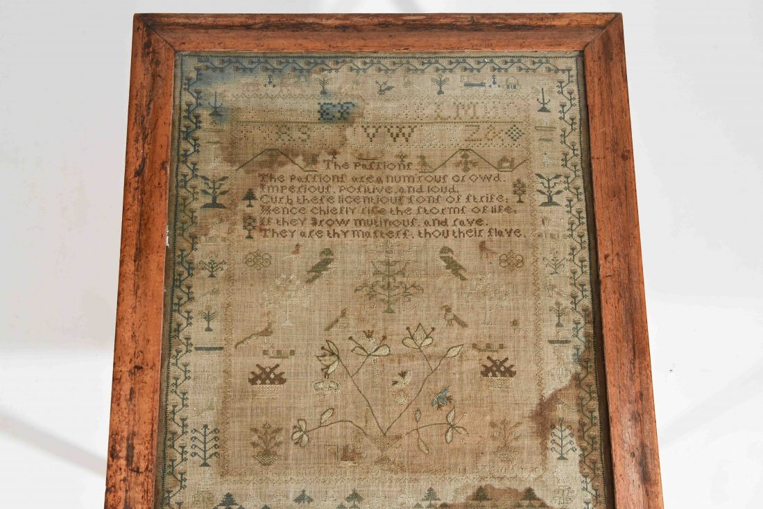 GROUPING OF SAMPLERS & EMBROIDERY - 2