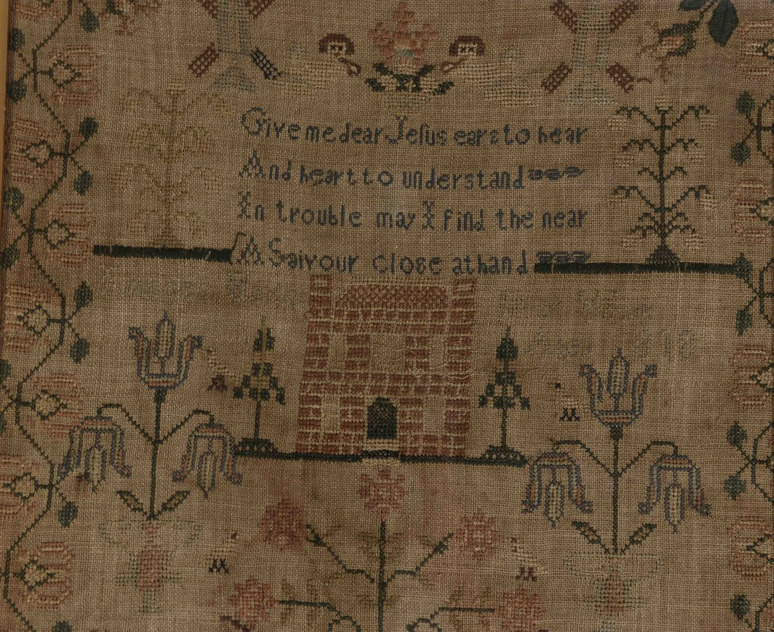 GROUPING OF SAMPLERS & EMBROIDERY - 6