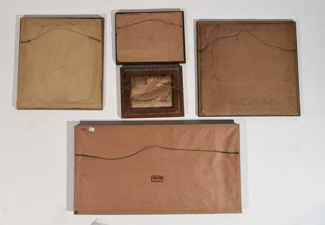 GROUPING OF SAMPLERS & EMBROIDERY - 9