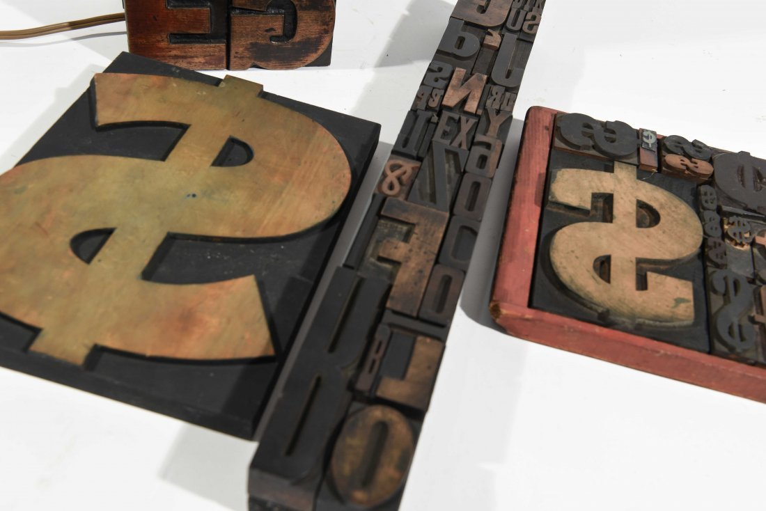 VINTAGE TYPE SCULPTURE AND LAMP - 7