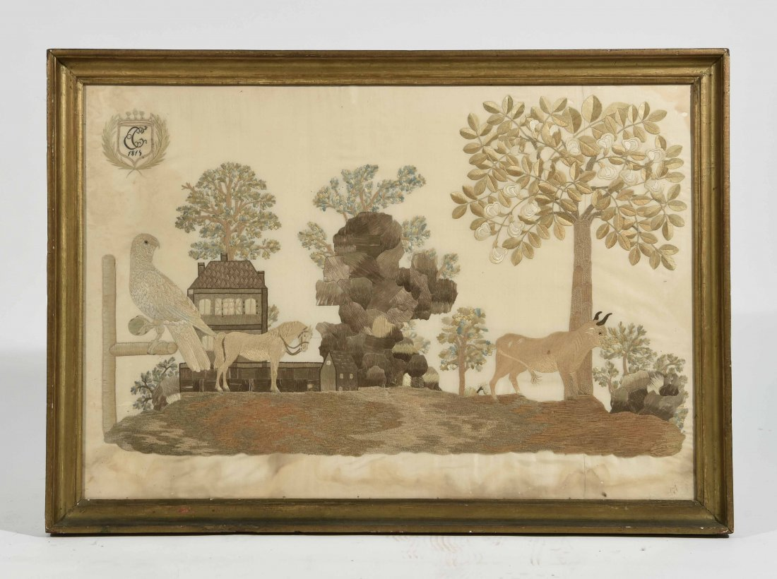 1815 SILK EMBROIDERY