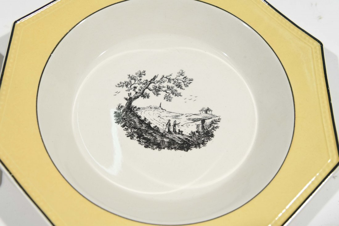FRENCH PORCELAIN PLATE SET - 3