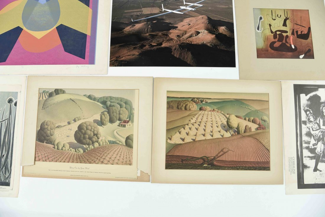 GROUPING OF MISC PRINTS - 3