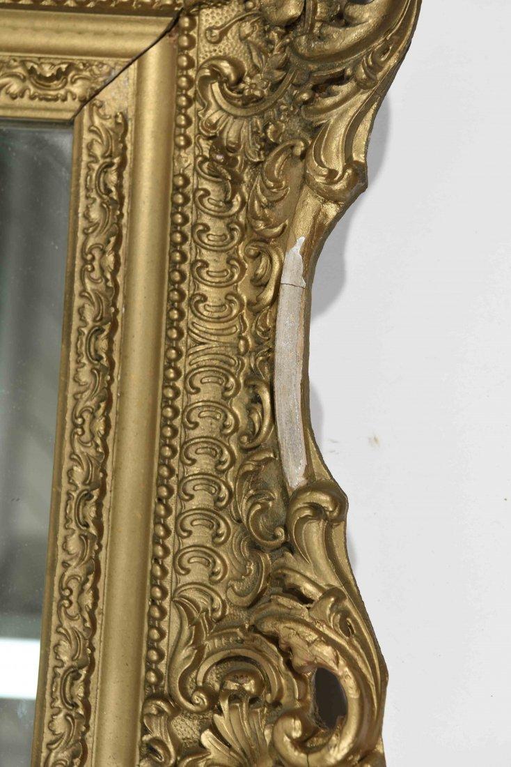 ANTIQUE GOLD FRAMED MIRROR - 2