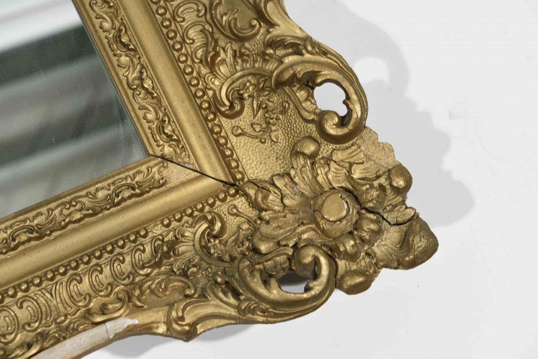 ANTIQUE GOLD FRAMED MIRROR - 5