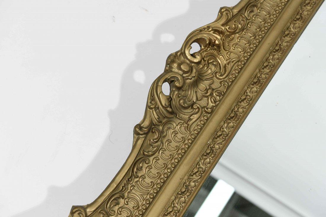ANTIQUE GOLD FRAMED MIRROR - 7