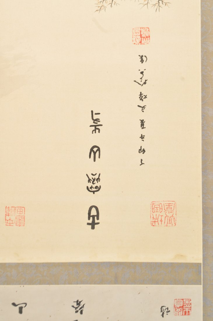 20TH CENTURY CHINESE SCROLL PAINTING - 5