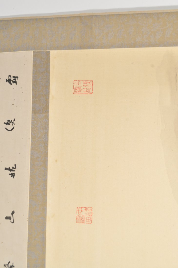 20TH CENTURY CHINESE SCROLL PAINTING - 6