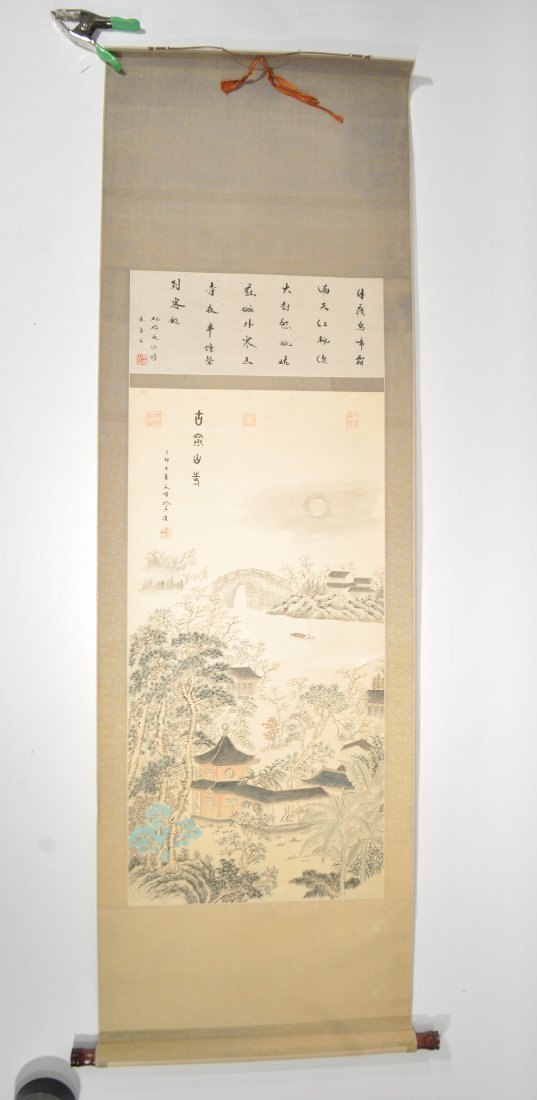 20TH CENTURY CHINESE SCROLL PAINTING - 7