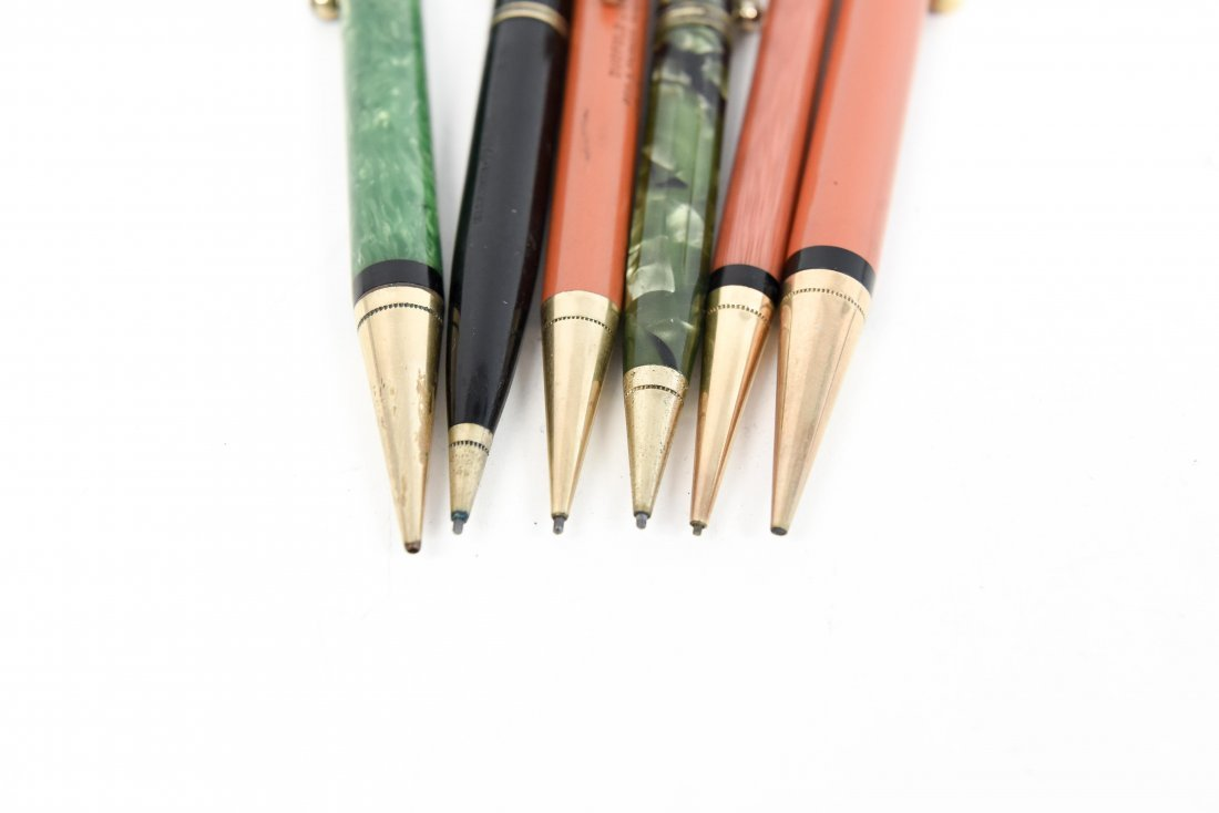 (6) PARKER MECHANICAL PENCILS - 6