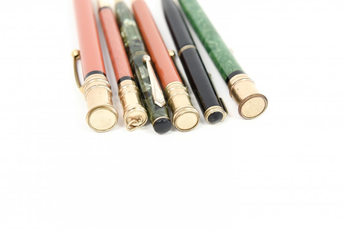 (6) PARKER MECHANICAL PENCILS - 7