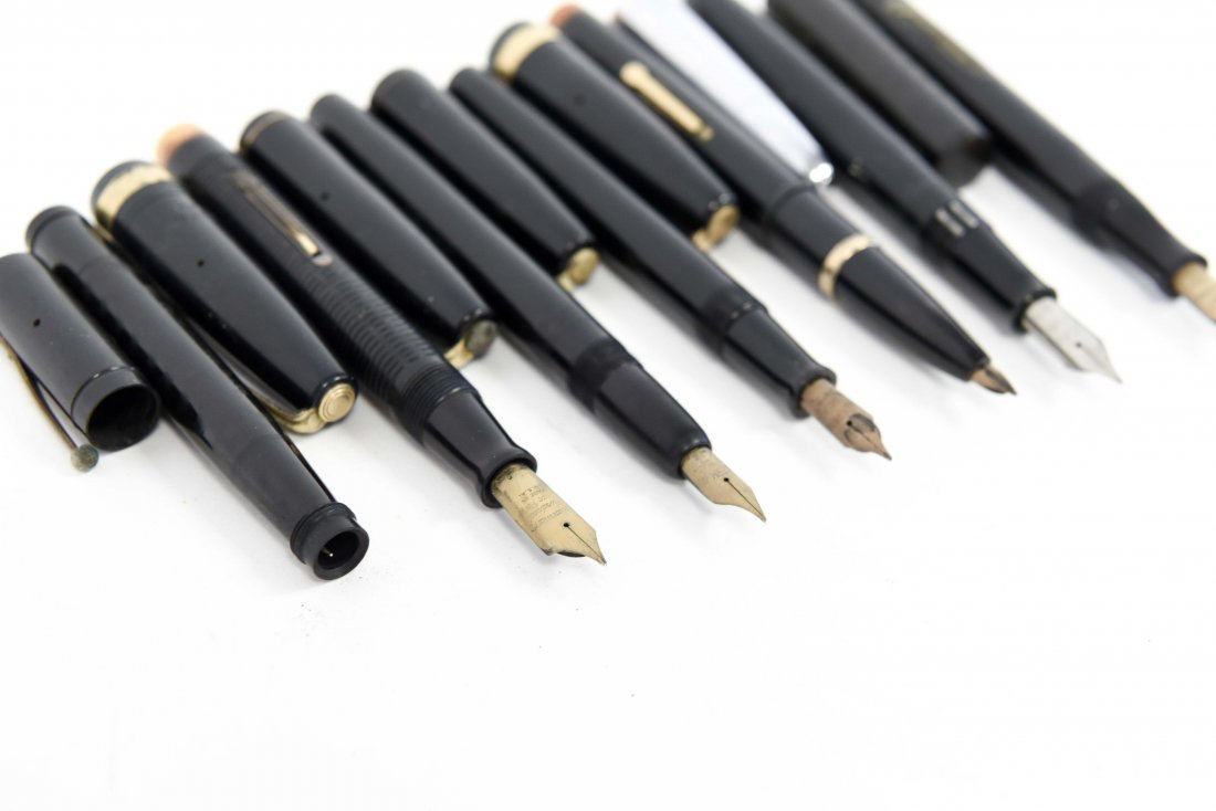 (7) WATERMANS FOUNTAIN PENS - 9